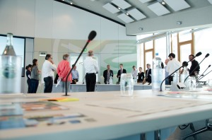 Our speakers at a preparatory meeting in Frankfurt